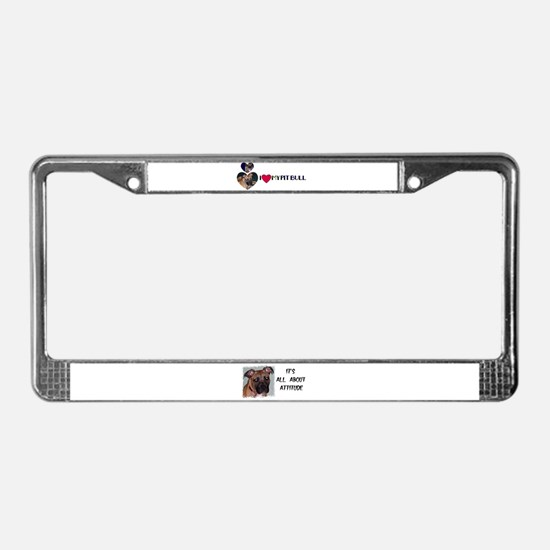 DOUBLE DAWG DARE YOU License Plate Frame