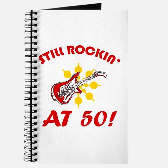 Rockin' 50th Birthday Journal