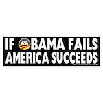 Obama Fails America Succeeds Sticker (10 pk)