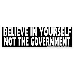 Believe in Yourself... Sticker (10 pk)