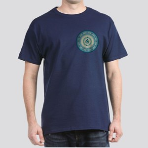 Colorful Circle of Fifths Dark T-Shirt