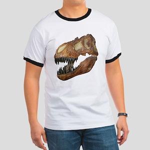T-rex Skull Ringer T
