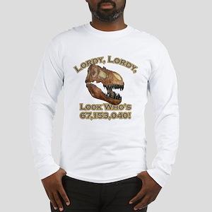 T-rex / Lordy Long Sleeve T-Shirt