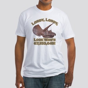 Triceratops / Lordy Fitted T-Shirt