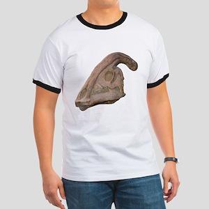 Hadrosaur Skull Ringer T