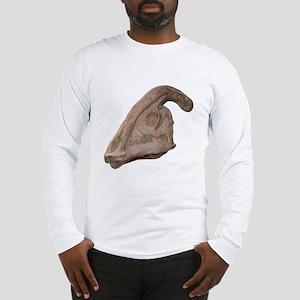 Hadrosaur Skull Long Sleeve T-Shirt