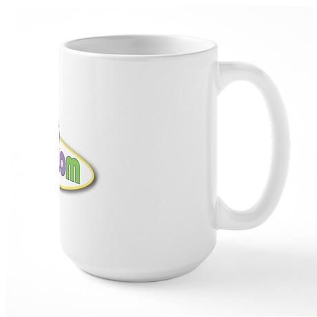 Golden Mom Large Mug
