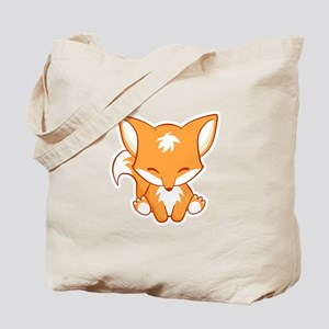 Happy Fox Tote Bag