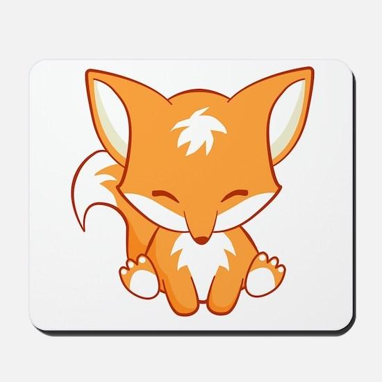 Happy Fox Mousepad