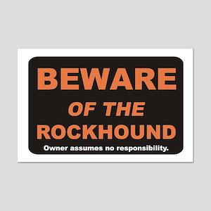 Beware / Rockhound Mini Poster Print