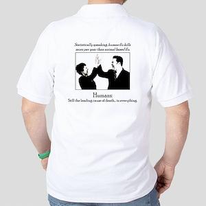 Human Flu Golf Shirt