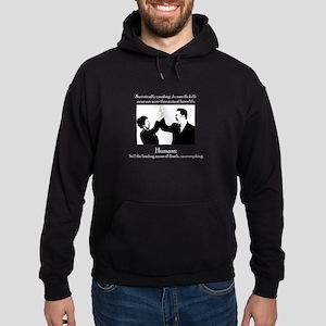 Human Flu Hoodie (dark)