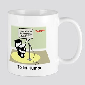 3-Toilet Humor Mugs
