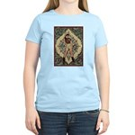 Ornate Vintage Pinup Cowgirl Women's Light T-Shirt