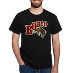 Vintage Rodeo Bronc Rider Dark T-Shirt