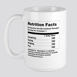 Recreation Therapy Nutrition  Large Mug