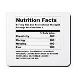 Recreation Therapy Nutrition Mousepad