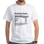 Recreation Therapy Nutrition White T-Shirt