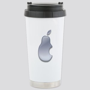 Pear Gel Logo Stainless Steel Travel Mug