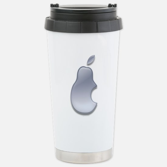 Pear Gel Logo Stainless Steel Travel Mug