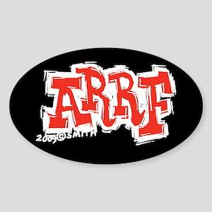 Arrf Sticker (Oval)