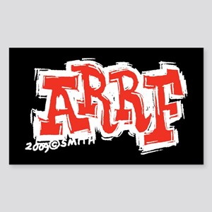 Arrf Sticker (Rectangle)