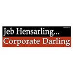 Jeb Hensarling is a Corporate Darling sticker