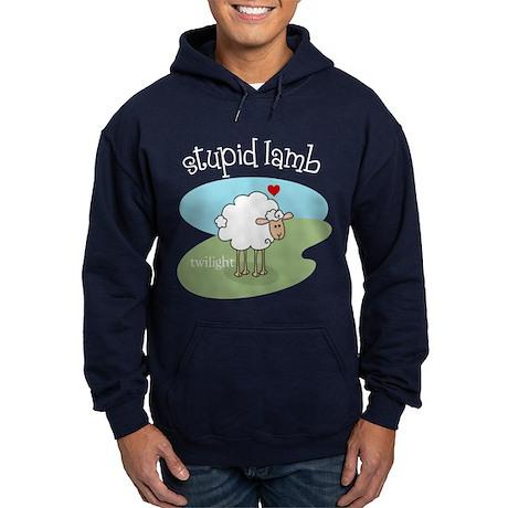 Twilight Stupid Lamb Hoodie (dark)