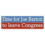 Joe Barton bumper sticker