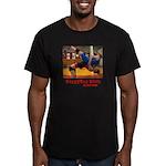 Grappling Girls Men's Fitted T-Shirt (dark)