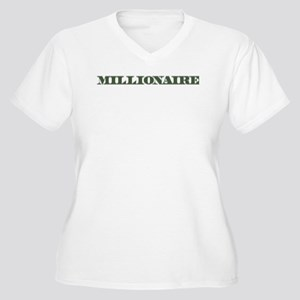 Millionaire Women's Plus Size V-Neck T-Shirt