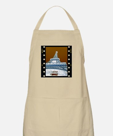 Eiffel Tower Negative BBQ Apron