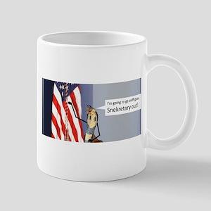 Snekretary Out Mugs