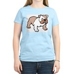 Bulldog gifts for women Women's Pink T-Shirt