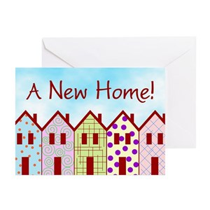 New home greeting cards cafepress m4hsunfo