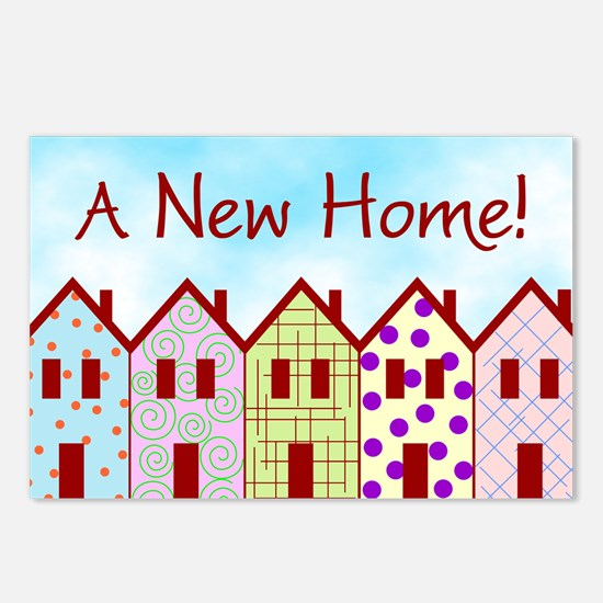 A New Home Postcards