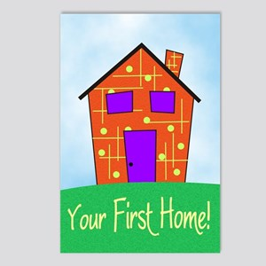 Your First Home Postcards (Package of 8)