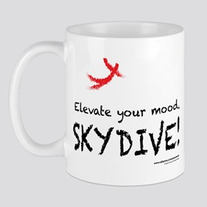 Elevate Your Mood Skydiver Mug