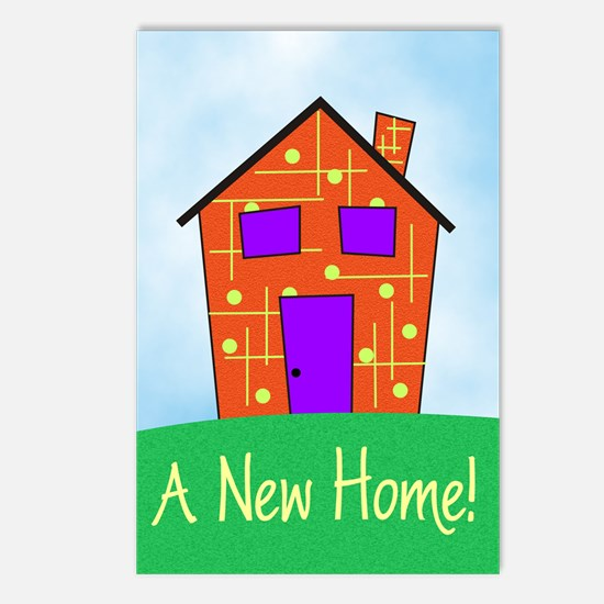 A New Home Postcards (Package of 8)