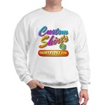 Add Your Message To A Custom Sweatshirt