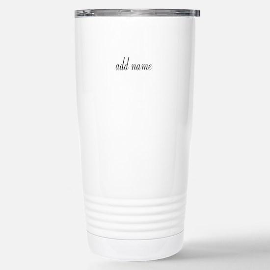 Unique Initials Travel Mug