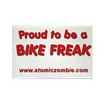Bike Freak Rectangle Magnet