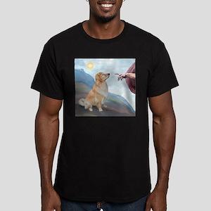 God's Golden (#11) Men's Fitted T-Shirt (dark)