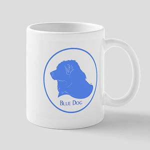 Blue Dog Logo Mug