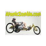 AtomicZombie.com Rectangle Magnet