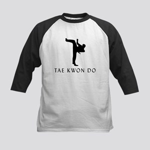 Tae Kwon Do Kids Baseball Jersey