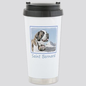 Saint Bernard 16 oz Stainless Steel Travel Mug