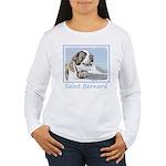 Saint Bernard Women's Long Sleeve T-Shirt
