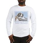 Saint Bernard Long Sleeve T-Shirt