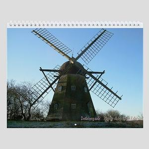 Fresh New Views of 12 Danish Wind Mills